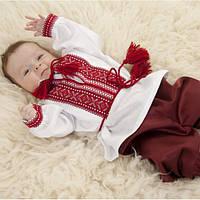 Вышитый костюм для младенца