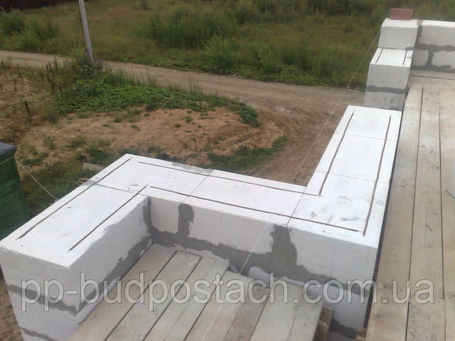 Строим фундамент для дома из газосиликата