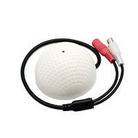 Выносной микрофон для видеонаблюдения в сферическом корпусе GK-800G