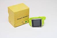 Умные часы телефон Smart Watch A1 c SIM картой Green