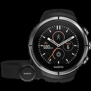 Смарт-годинник Suunto Spartan Ultra Black HR (з нагрудним датчиком серцевого ритму), фото 2