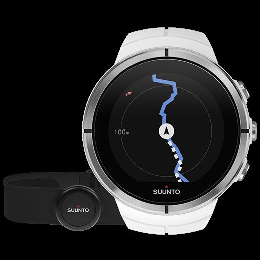 Смарт-годинник Suunto Spartan Ultra White HR (з нагрудним датчиком серцевого ритму)