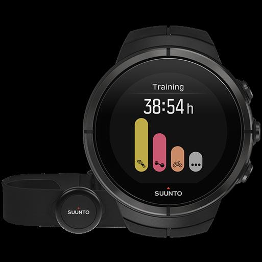 Смарт-годинник Suunto Spartan Ultra All Black Titanium HR (з нагрудним датчиком серцевого ритму)