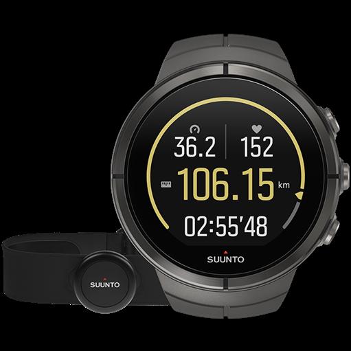 Смарт-годинник Suunto Spartan Ultra Stealth Titanium HR (з нагрудним датчиком серцевого ритму)