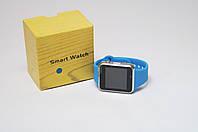 Умные часы телефон Smart Watch A1 c SIM картой Blue