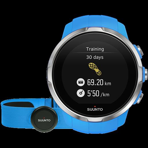Смарт-годинник Suunto Spartan Sport Blue HR (з нагрудним датчиком серцевого ритму)