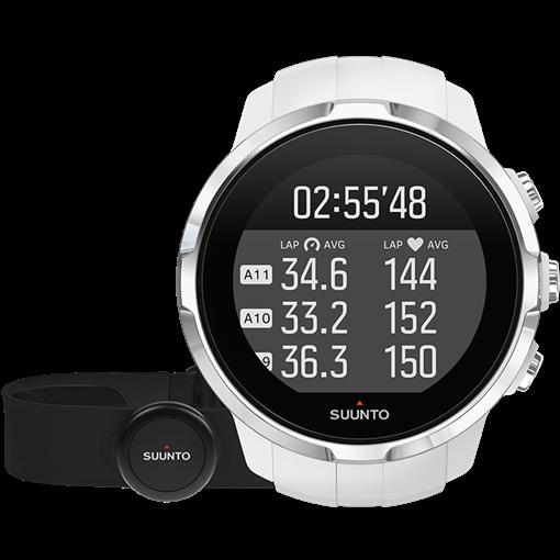 Смарт-годинник Suunto Spartan Sport White HR (з нагрудним датчиком серцевого ритму)