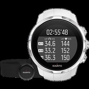 Смарт-годинник Suunto Spartan Sport White HR (з нагрудним датчиком серцевого ритму), фото 2