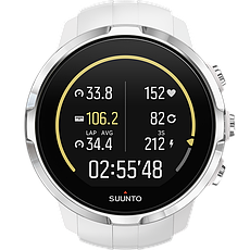 Смарт-годинник Suunto Spartan Sport White HR (з нагрудним датчиком серцевого ритму), фото 3