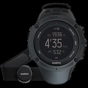 Смарт-годинник Suunto Ambit3 Peak Black HR (з нагрудним датчиком серцевого ритму), фото 2