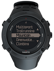 Смарт-годинник Suunto Ambit3 Peak Black HR (з нагрудним датчиком серцевого ритму), фото 3