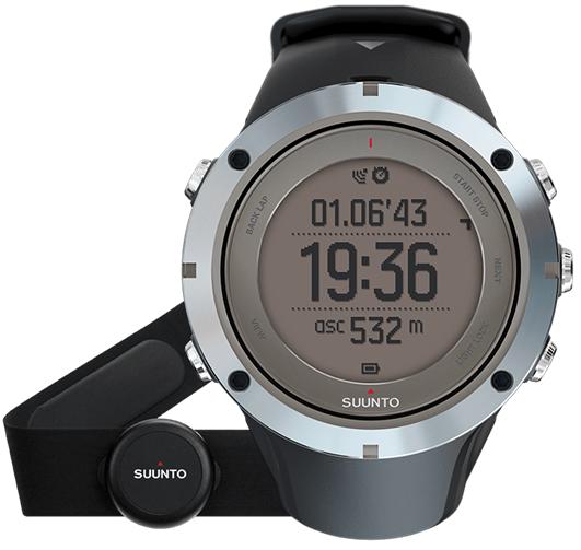 Смарт-годинник Suunto Ambit3 Peak Sapphire HR (з нагрудним датчиком серцевого ритму)
