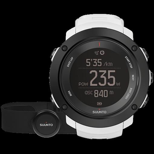 Смарт-годинник Suunto Ambit3 Vertical White HR (з нагрудним датчиком серцевого ритму)