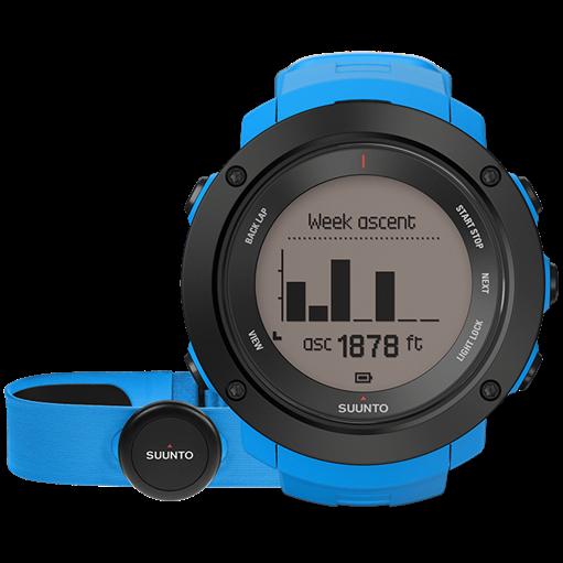 Смарт-годинник Suunto Ambit3 Vertical Blue HR (з нагрудним датчиком серцевого ритму)