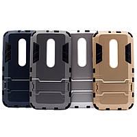 Противоударный чехол для Motorola Moto G (3rd Gen.) с подставкой и мощной защитой корпуса /для Моторолы Мото/