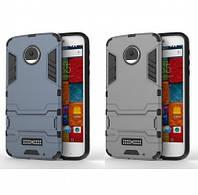 Противоударный чехол для Motorola Moto Z Force с мощной защитой корпуса /для Моторолы Мото/