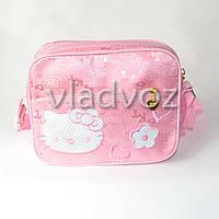 Детская сумка сумочка Hello Kitty розовая
