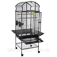 Вольер для средних и крупных попугаев.58*58*159 см (Ротвис)