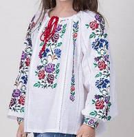 Детская блуза с красивой вышивкой