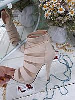 Женские летние босоножки ,открытые,каблук