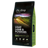 Profine DOG Light Lamb (ягненок д/оптимизации веса) 15 кг