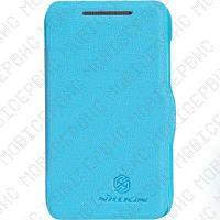 Чехол книжка NILLKIN HTC Desire 200 голубой