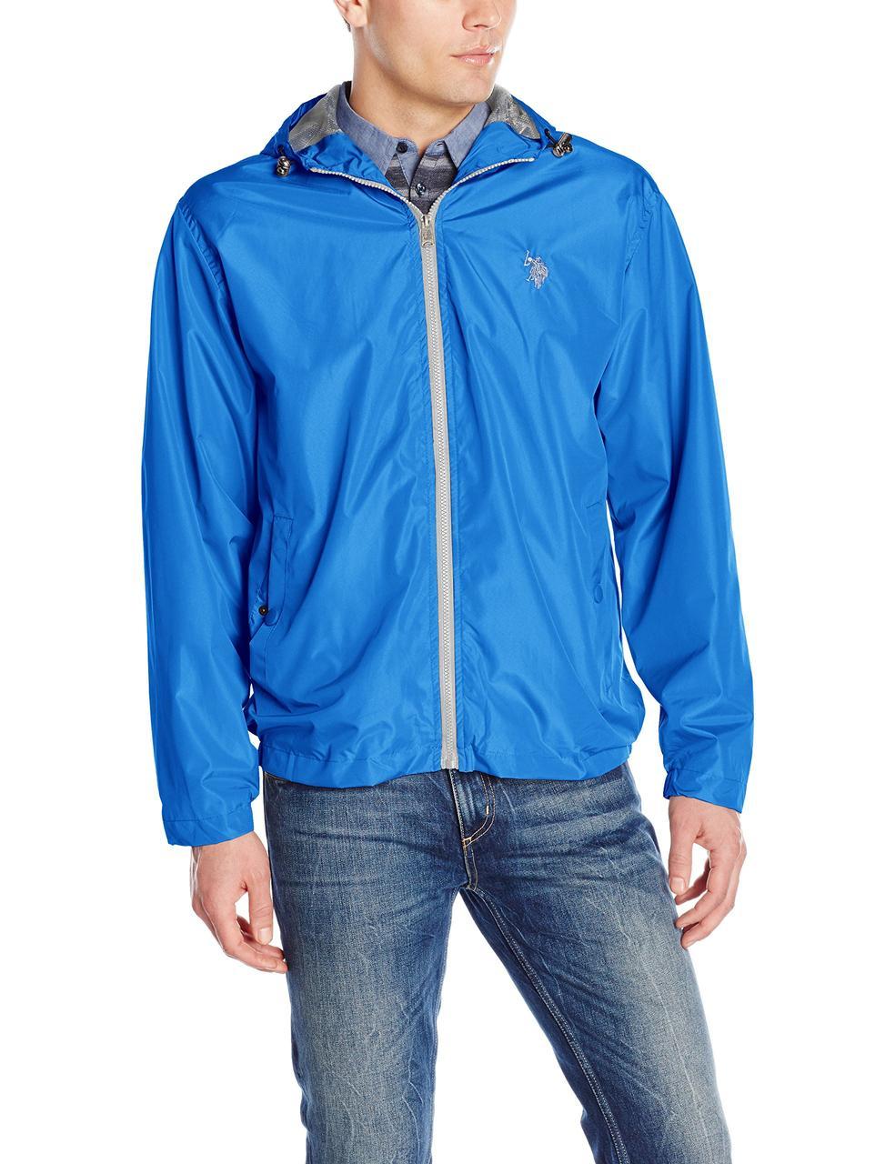 Ветровка U.S. Polo Assn., S, China Blue, 105649P2-CNBL