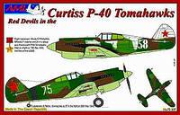 Curtiss P-40 Tomahawks 1/72 AML 72037