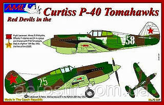 Curtiss P-40 Tomahawks 1/72 AML 72037
