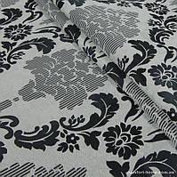 Комплект штор Dimout Venzel Gakkard Серый Перламутр-Черный, арт. MG-137972