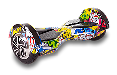 Гироборд Smart Balance Lambo U6 LED 8 дюймов Hip-Hop (граффити)