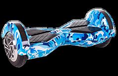 Гироборд Smart Balance Lambo U6 LED 8 дюймов Голубой Камуфляж