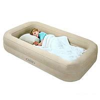 Надувная кровать детская intex 66810 107 х 168 см.