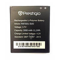 Батарея Prestigio PAP3500 Duo для мобильного телефона Prestigio PAP3501 Duo, 2500mAh