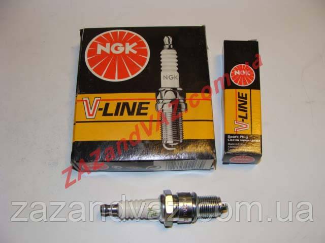 Свечи зажигания NGK V-Line №4 BP6E ВАЗ 2101-2107 под контактный трамблер оригинал