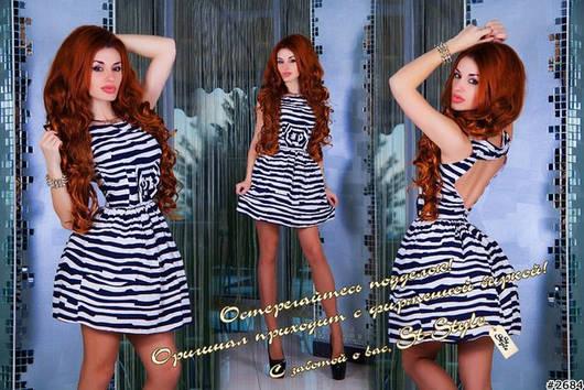 Платье ш637