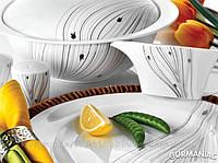 Фарфоровый столовый сервиз KARACA Овал (9006)