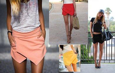 Шорты юбка женские, фото 2
