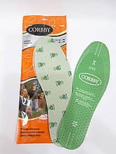 Демисезонные стельки CORBBY ароматизированные