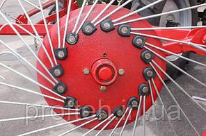 Грабли-ворошилки 5-ти колёсные Заря  (польская спица оцинкованная Ø6 мм)