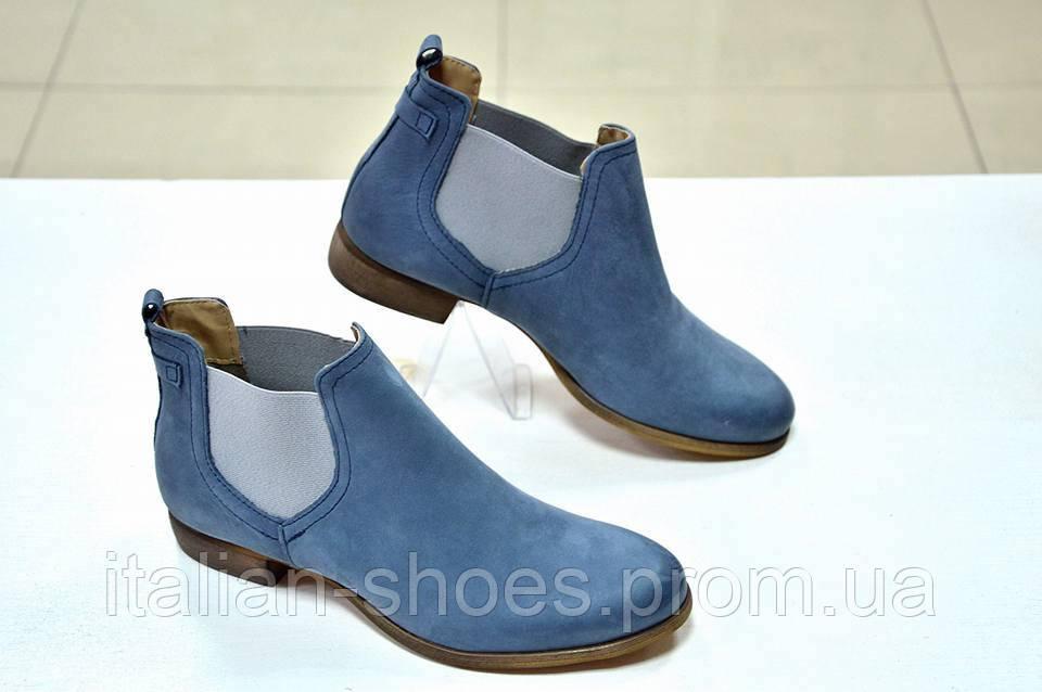 104e15ef3385 Ботинки челси синие Rossella Lopes 870 - I Love Italian Shoes в Виннице