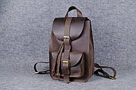 Рюкзак из натуральной кожи |11907| Коричневый