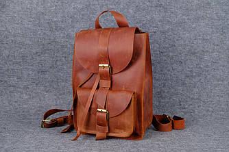 Рюкзак из натуральной кожи |11906| Коньяк