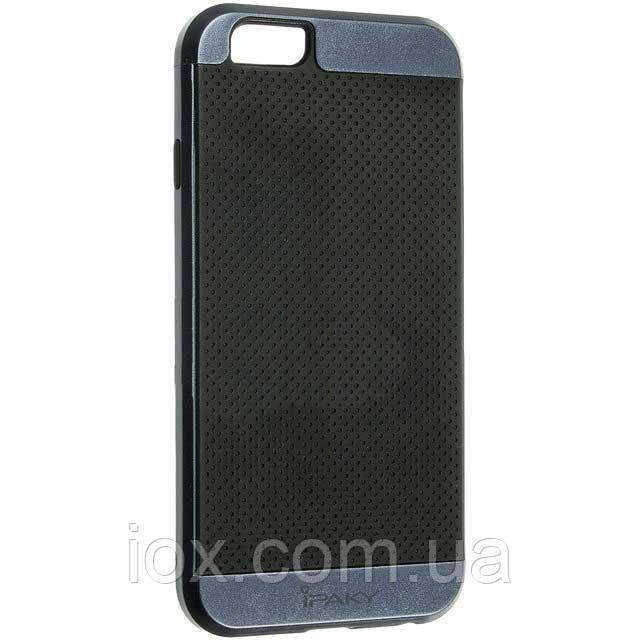 Комбинированный противоударный чехол-накладка IPAKY для Iphone 6/6s синий