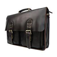 TIDING BAG Мужской кожаный портфель TIDING BAG 7105C