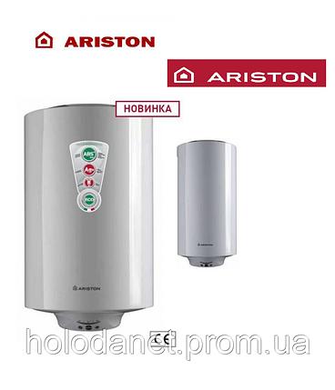 Бойлер (водонагреватель) Ariston Slim 80 ASB PRO R (Диаметр 35 см), фото 2
