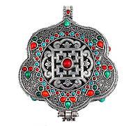 Тибетский Амулет Большого Богатства ( с аромадиффузором)