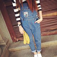 Комбинезон джинсовый женский Mickey W120 Комбинезоны джинсовые