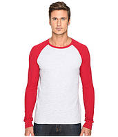 Реглан Levi's, Athletic Grey Heather/Jester Red, фото 1
