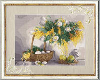 Набор для вышивки   крестом  Желтый натюрморт
